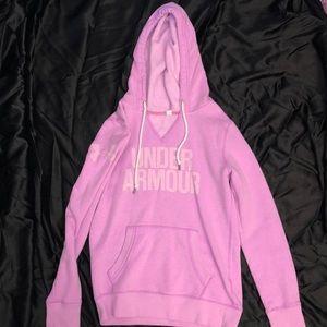 Purple UA hoodie